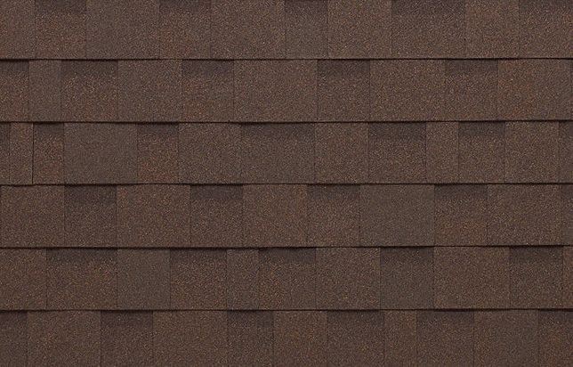 Cambridge dark brown shingles