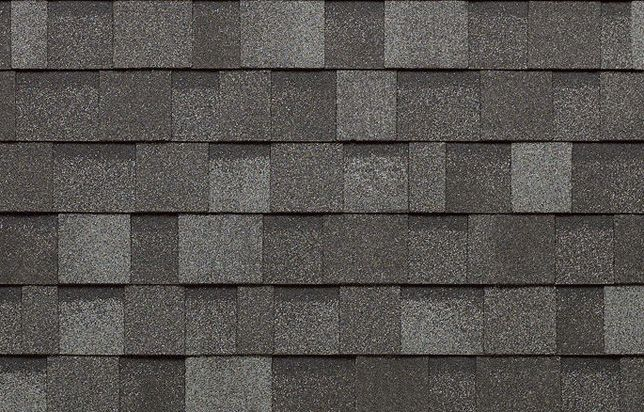 Cambridge dark grey shingles